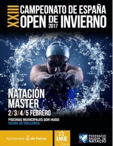 Campeonato de España Máster de Natación 2017 en Mallorca