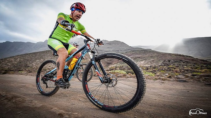 Toni Franco ha disputado la 4 Stage Mountain Bike Race Lanzarote