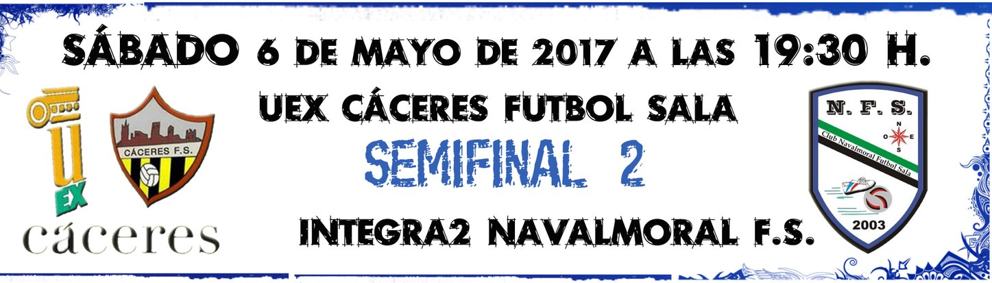 IV Copa de Extremadura de Fútbol Sala en Navalmoral de la Mata - Semifinal 2