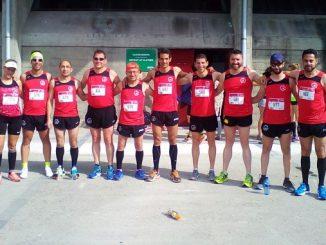 Navalmaratón en la VII Media Maratón Villa de Jovellanos de Gijón
