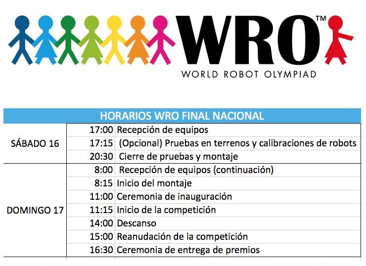 horario | Samira, Carla y Samuel disputarán el Campeonato Nacional de #WRO Robótica Educativa