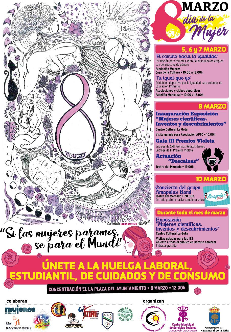 Programación de la Semana de la Mujer Marzo 2018