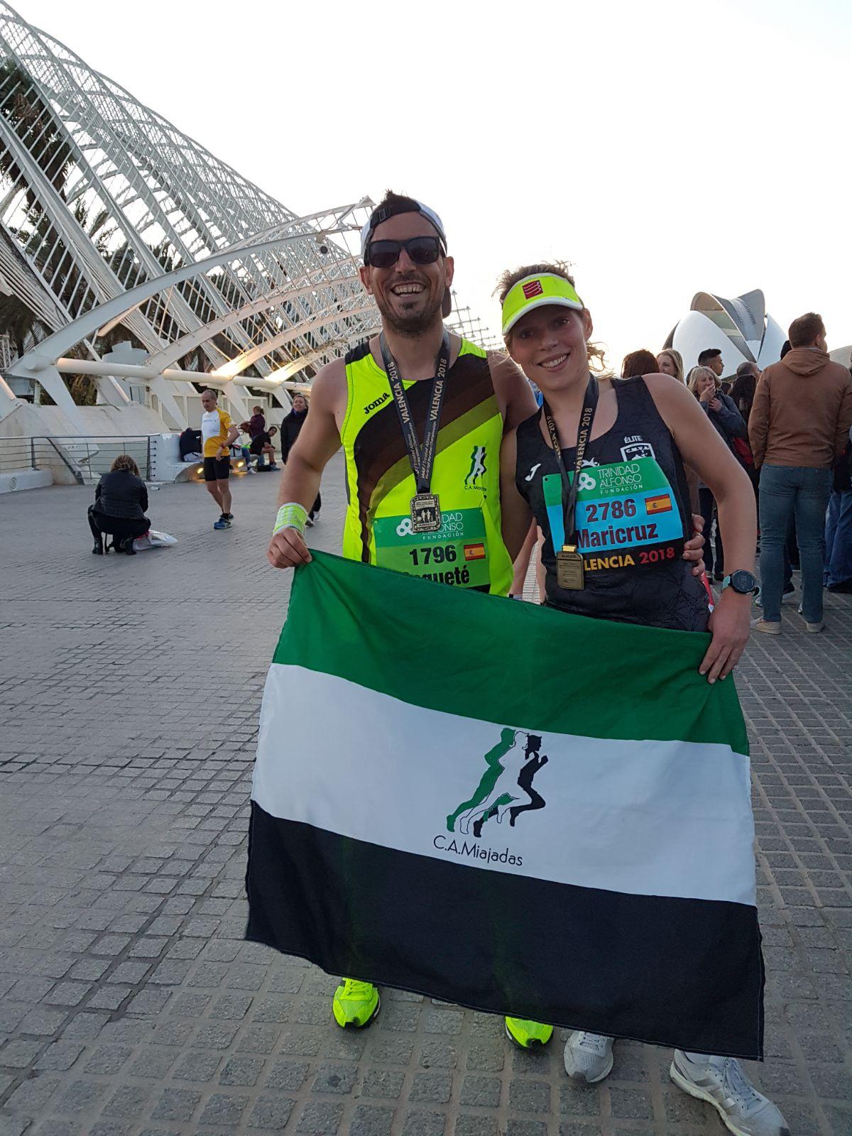 Navalmaratón participó en el Medio Maratón de Valencia y en Jaraíz de la Vera