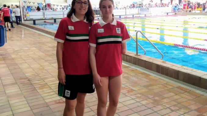 Sheila Mirasierra Caballero participó en el Campeonato de España de Natación Adaptada por Selecciones Autonómicas – Categoría Edad Escolar CSD 2019