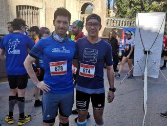 Fondistas Moralos en la Media Maratón de Guadalupe