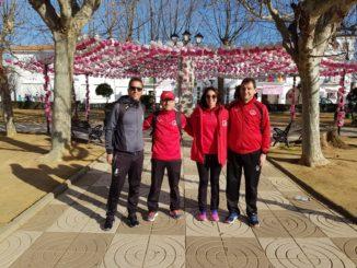 Navalmaratón participó en la IX Media Maratón Valdelacalzada en Flor