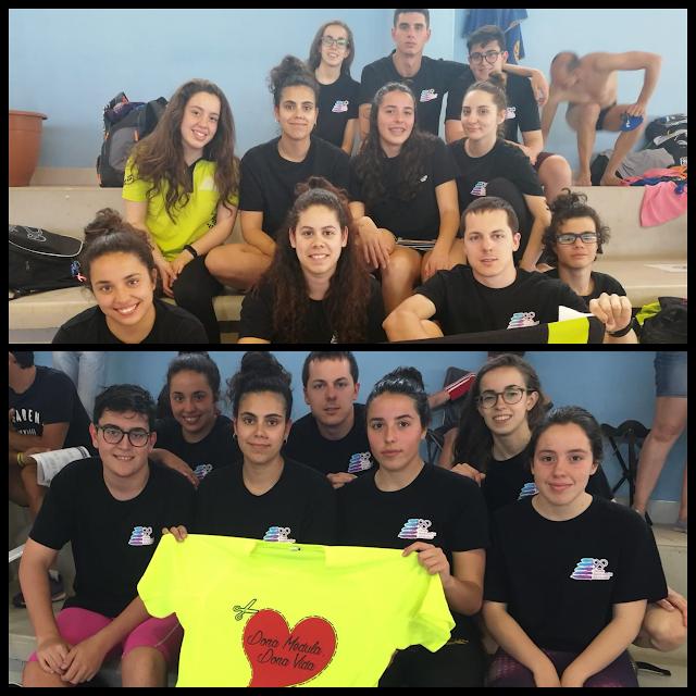 Resultados del Club Natación Moralo en la Copa de Clubes celebrada en Badajoz