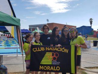 El Club Natación Moralo en el Trofeo de Badajoz