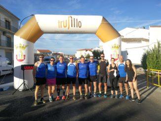 Los Fondistas Moralos participaron en la Carrera Popular de La Cumbre y Trujillo