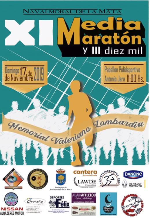 Abiertas las inscripciones de la XI Medio Maratón y el III Diez Mil Memorial Valeriano Lombardia