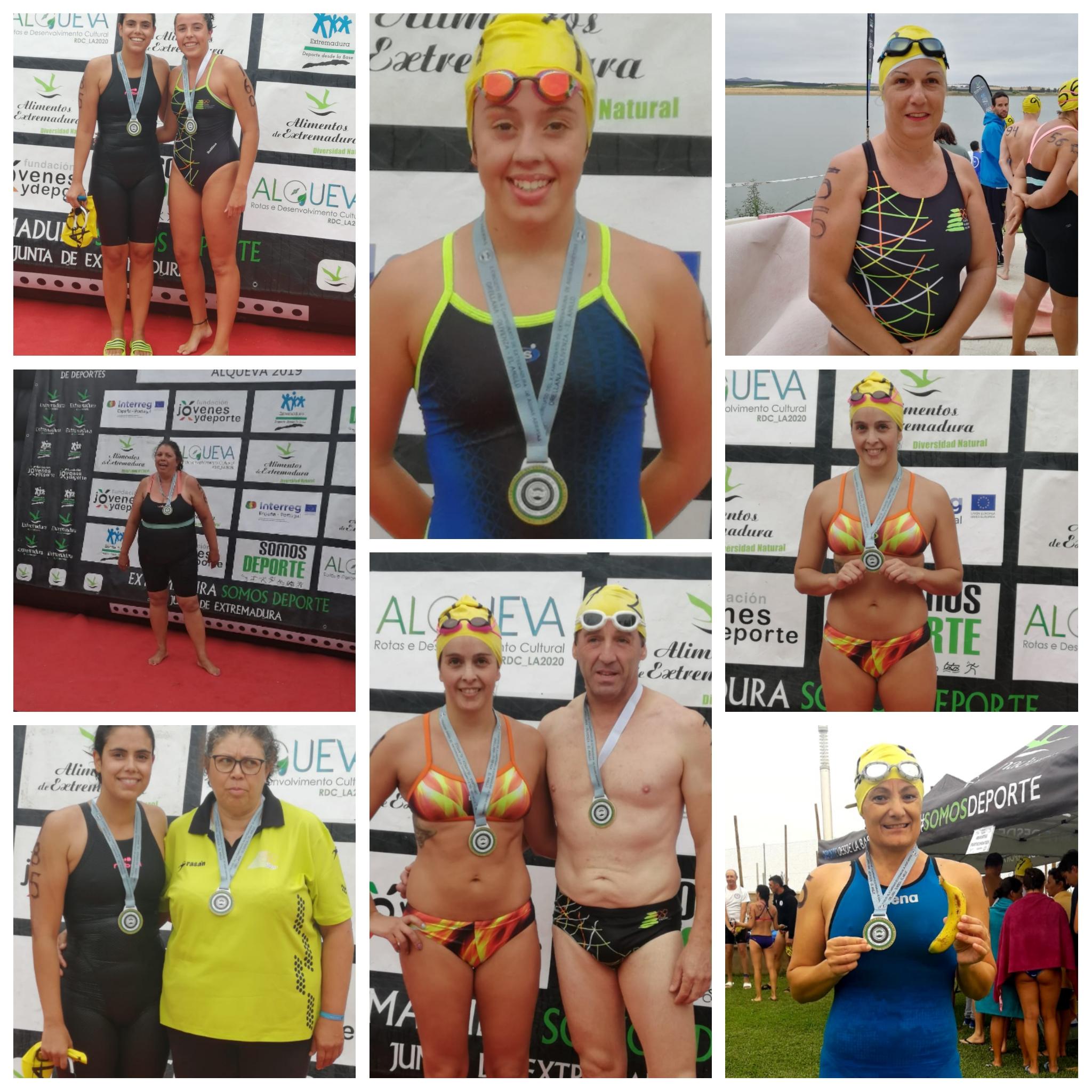 Doce nadadores del CN Moralo disputaron la II Etapa del 2° Circuito de diputación de aguas abiertas