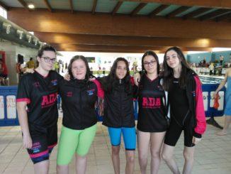 Resumen de la primera jornada del Circuito Diputación en la piscina climatizada de Badajoz