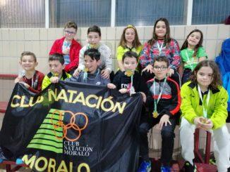 Prebenjamines y benjamines de C.N.M representan a Navalmoral en el Trofeo de Reyes en Almendralejo