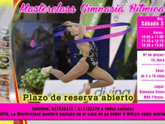 Masterclass de Gimnasia Rítmica este sábado en Cross MAE Fitness