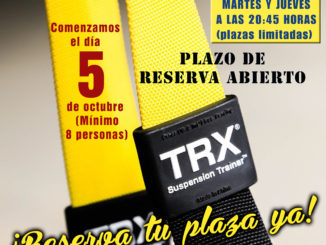 Abierto el Plazo de Inscripción de las Clases de TRX