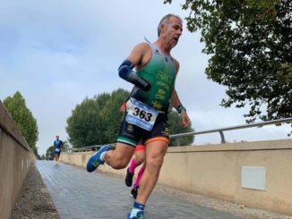 Toni Franco Campeón de Extremadura de Duatlón en PTS5
